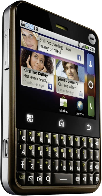motorola charm blackberry lookalike mit android android handys. Black Bedroom Furniture Sets. Home Design Ideas