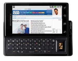 android-handy Motorola Milestone